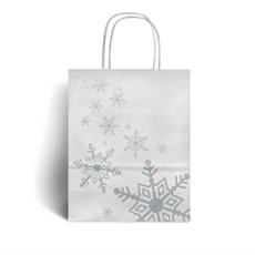 christmas paper bags by carrier bag shop retail christmas packaging
