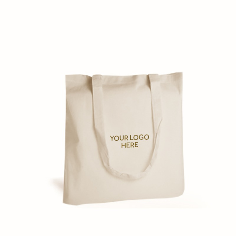 Personalised Natural Cotton Shopping Bags